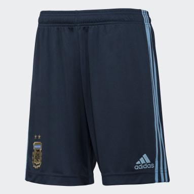 Shorts de visitante Argentina Azul Hombre Fútbol