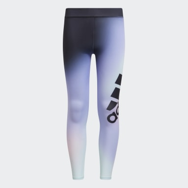 Youth Training Purple Ombré Graphic Tights