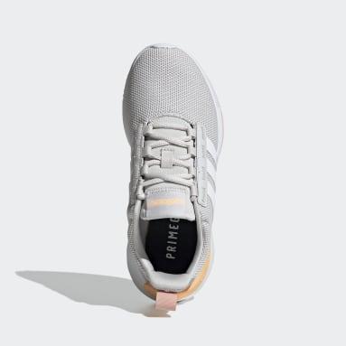 Kids Essentials Grey Racer TR21 Shoes