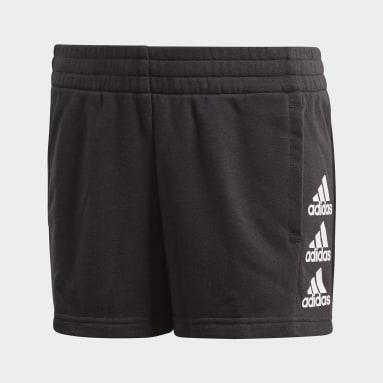 Pantalón corto Must Haves Negro Niña Gimnasio Y Entrenamiento