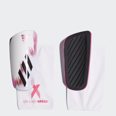 Espinilleras X 20 League Blanco Fútbol