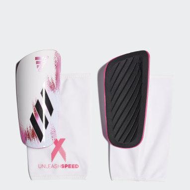 X 20 League Leggbeskyttere Hvit