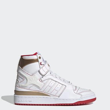 Men Originals White Forum Hi OG Shoes