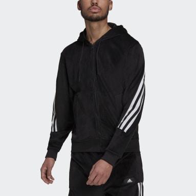 Polera con Capucha adidas Sportswear Future Icons Cierre Frontal Negro Hombre Sportswear