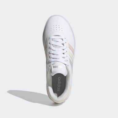 Tenis adidas Court Bold Blanco Mujer Diseño Deportivo