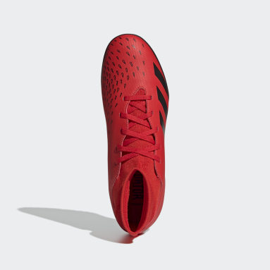 Zapatos de Fútbol Predator Freak.4 Pasto Sintético Rojo Hombre Fútbol