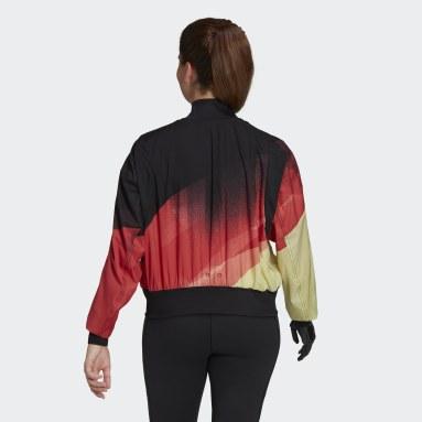Women Gym & Training Black Team Germany Podium Jacket