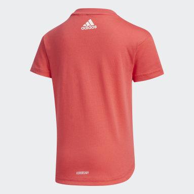 Camiseta Rosa Niña Sportswear