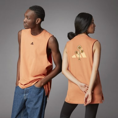 Débardeur Terra Love Orange Lifestyle
