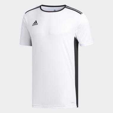 Camiseta Entrada18 Blanco Hombre Fútbol