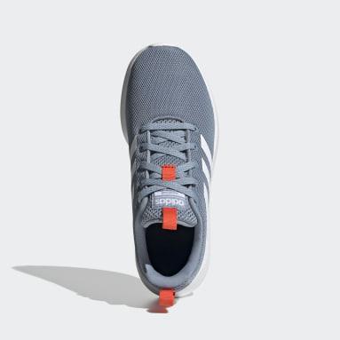 Zapatillas Lite Racer CLN Azul Niño Diseño Deportivo