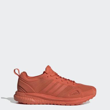 Zapatillas SolarGlide Naranja Mujer Running