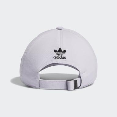 Women's Originals Purple Mini Logo Relaxed Hat