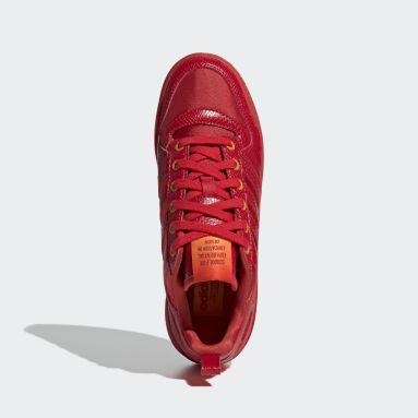 Tenis Forum Bold Rojo Mujer Originals