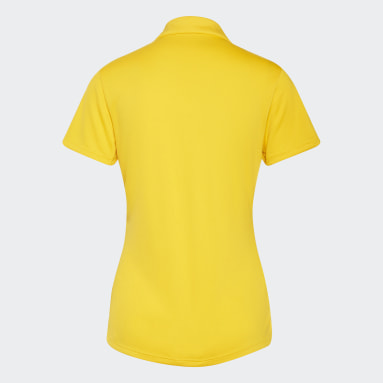 Ženy Golf žlutá Polokošile Performance