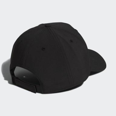 Men Golf Black Badge of Sport Logo Cap