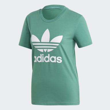 Women Originals Green Trefoil T-Shirt