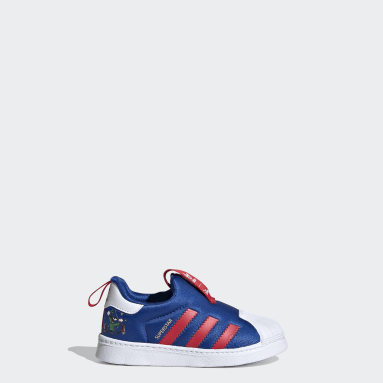 Infants Originals Blue Superstar 360 Shoes
