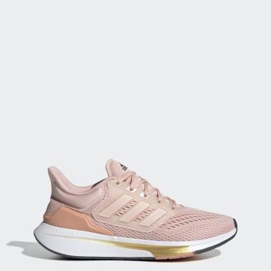 Dames Hardlopen Roze EQ21 Run Schoenen