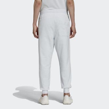 Pantalon Y-3 Classic Terry Cuffed Bleu Hommes Y-3