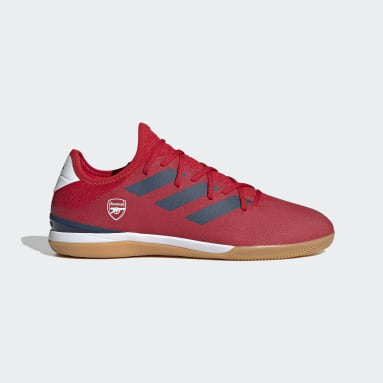 Football Red Gamemode Knit Indoor Boots