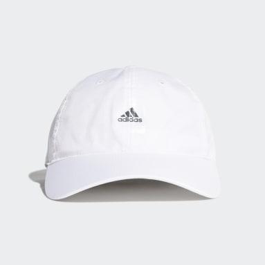 Field Hockey White Essentials Logo Lightweight Cap