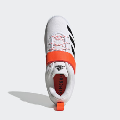 Cross Training White Powerlift Weightlifting Shoes