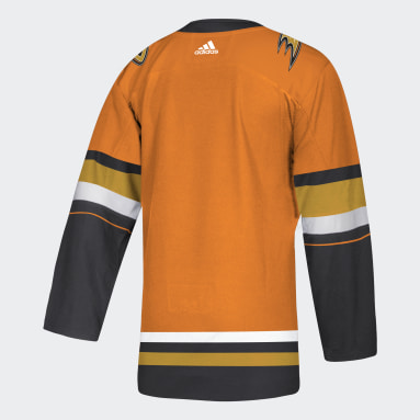 Men's Hockey Orange Ducks Authentic Third Jersey