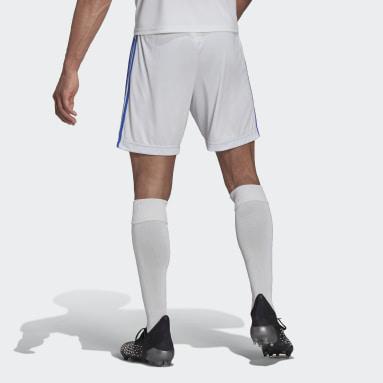 Shorts Local Real Madrid 20/21 Blanco Hombre Fútbol