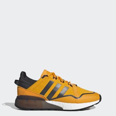 Men Originals Gold ZX 2K Boost Pure Shoes