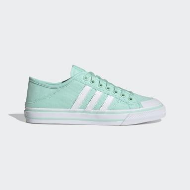Men Originals Turquoise Collapsible Nizza Lo Shoes