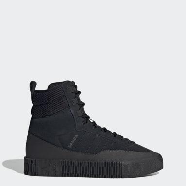 черный Ботинки Samba