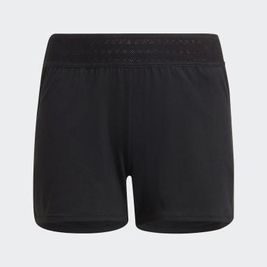 Youth Running Black HEAT.RDY Shorts