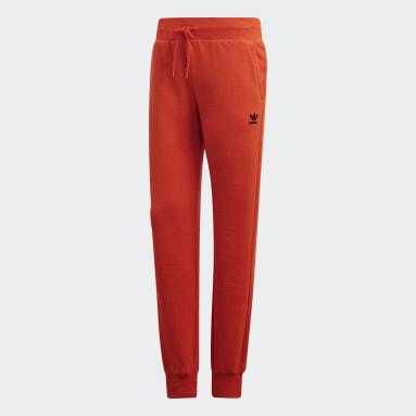 Women's Originals Orange Cuffed Pants