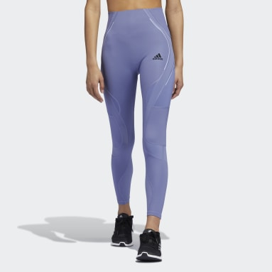Women Gym & Training Purple TLRD HIIT Lux 7/8 Tights