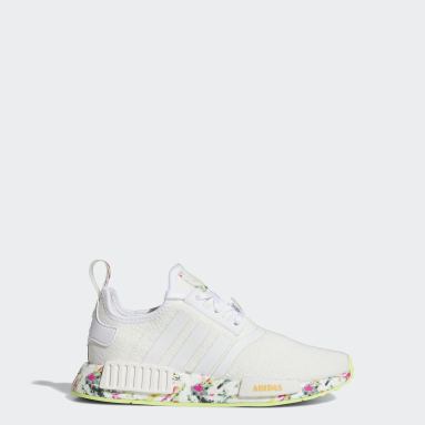 Youth Originals White NMD_R1 Shoes