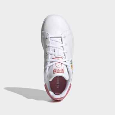Tenis Stan Smith Blanco Niño Originals