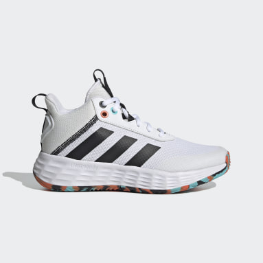 Chaussure Ownthegame 2.0 blanc Enfants Basketball