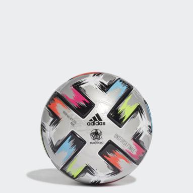 ผู้ชาย ฟุตบอล สีเงิน ลูกฟุตบอลขนาดเล็ก Uniforia Finale