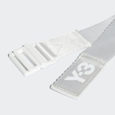 Y-3 White Y-3 Classic Logo Belt