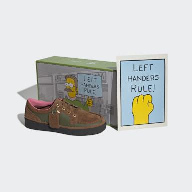 коричневый Мокасины McCarten Simpsons Left Handers Rule