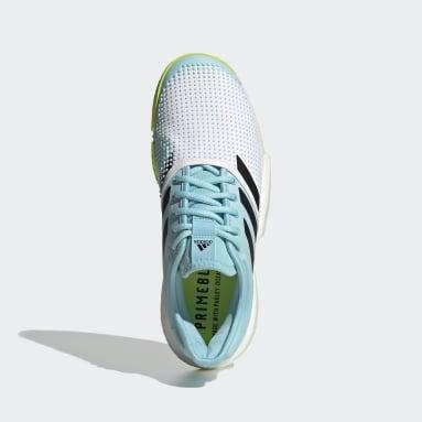Mænd Padel Tennis Hvid SoleCourt Primeblue Tennis sko