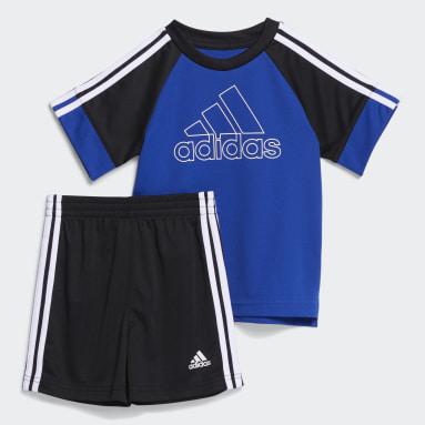 Infant & Toddler Training Blue Goals Shorts Set