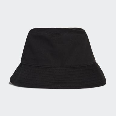Training Black Cotton Bucket Hat