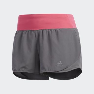 Shorts Run It Gris Mujer Running