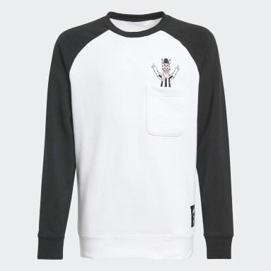 Youth Soccer Black Juventus Crew Sweatshirt