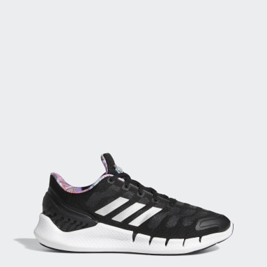 Women Running Black Climacool Ventania Shoes