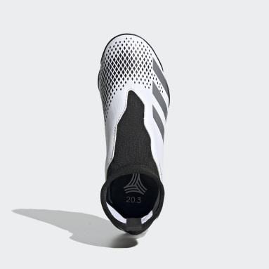 Zapatos de fútbol Predator Mutator 20.3 Césped Artificial Blanco Niño Hockey
