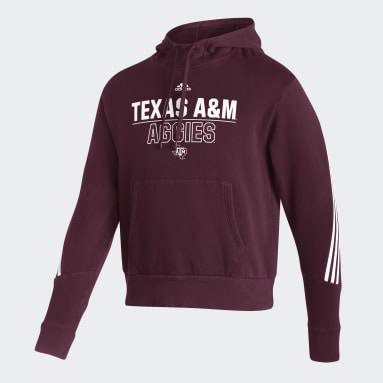 Men's Training Red Aggies Pullover Hoodie