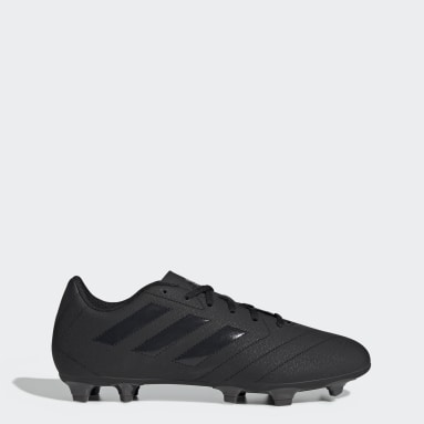 Men Football Black Goletto VII Firm Ground Boots